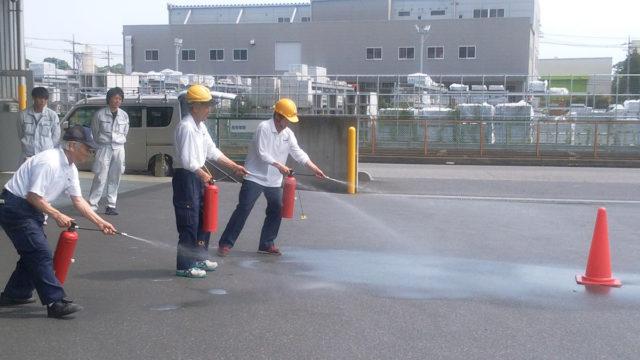 自衛消防訓練